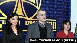 Лидер Народного форума Каха Шартава считает, что объединение трех партий стало логическим шагом