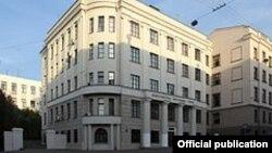 Здание МВД Белоруссии