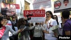Шествие в защиту Вартана Осканяна, Ереван, 19 октября 2012 г.