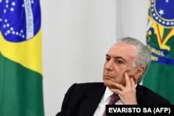 میشل تامر لبنانیتبار، رئیسجمهور پیشین برزیل