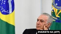 Bivši brazilski predsednik Mišel Temer
