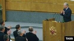 """Спикер Госдумы Борис Грызлов, выступая на заседеании Генсовета """"Единой России"""", был настроен весьма критично"""