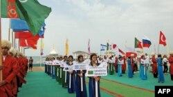 Открытие кубка мира по виндсёрфингу в Авазе