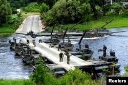 Військові навчання у Литві. 20 червня 2017 року