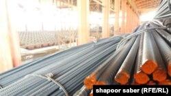 کارخانه تولید سیخ گول در کابل