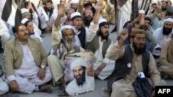 Mbështetësit e talibanëve në Quetta të Pakistanit