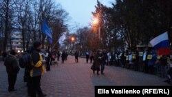 Пикет в поддержку Анастасии Шевченко