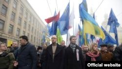 Марш «Вставай, Україно!» у Вінниці