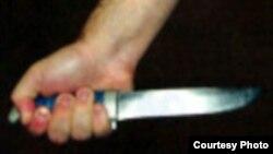 Традиционный узбекский нож.