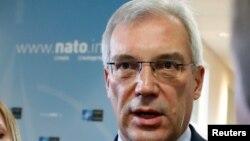 Russia's ambassador to NATO, Aleksandr Grushko