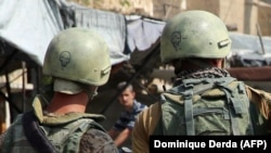 Ռուսաստանցի զինծառայողները Սիրիայում, արխիվ: