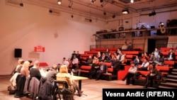 Tribina u Centru za kulturnu dekontaminaciju u Beogradu