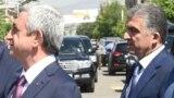 Серж Саргсян и Вачаган Казарян (архив)