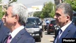 Вачаган Казарян (справа)
