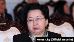 Бактыгүл Жээнбаева.