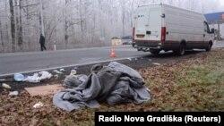 Ilegalni migranti pronađeni su u kombiju nedaleko Novske
