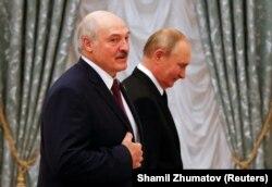 Переговоры Владимира Путина и Александра Лукашенко 9 сентября 2021 года