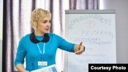 Олександра Усенко, координаторка проекту «Вивчай і розрізняй: інфомедійна грамотність» у Запорізькій області