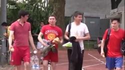 Кыргызский футбол на берлинском поле