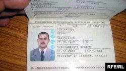 Шиносномаи тақаллубии Ҳ. Симирханов