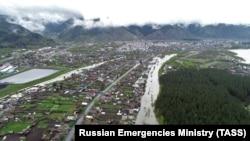 Vërshimet në Siberi në maj të këtij viti. Fotografi ilustruese.
