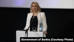 Ministarka za rad, zapošljavanje, boračka i socijalna pitanja Srbije Darija Kisić Tepavčević