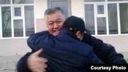 Бектур Асанов эркиндикке чыккан учур. 12-февраль, 2019-жыл.
