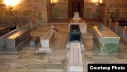 Мавзолей Гур-Эмир (гробница Тамерлана) в Самарканде.