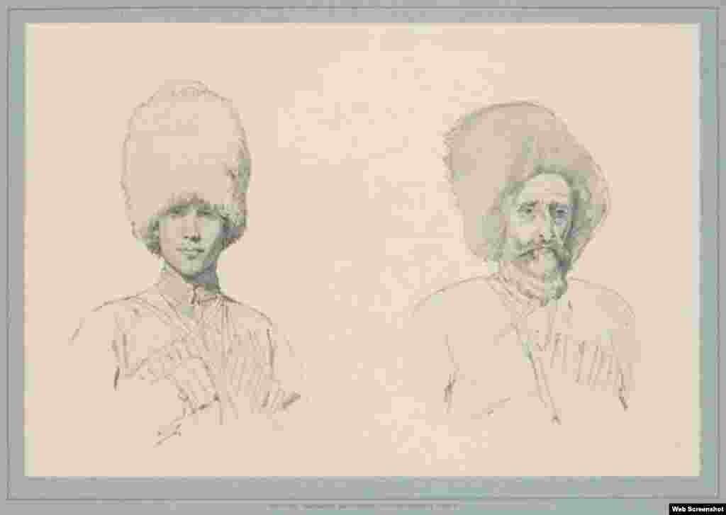 Портреты горцев