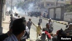 صحنه یکی از درگیریهای اخیر در جنوب یمن.