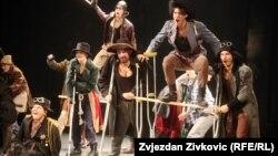"""Generalna proba """"Prosjačke opere"""", Sarajevo, foto: Zvjezdan Živković"""