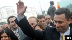 Премиерот Никола Груевски