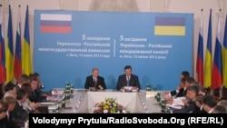 Заседание украинско-российской межгосударственной комиссии. Ялта, 12 июля 2012 г