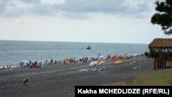 Пляж в Кобулети. Архивное фото