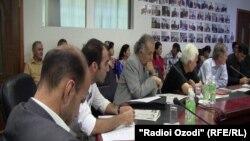 Ҳамоиши хабарнигорони тоҷик. 8 сентябри соли 2011