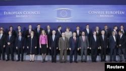 Саммит ЕС: фото на память