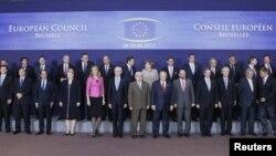 Лидеры Европейского союза. Фото на память