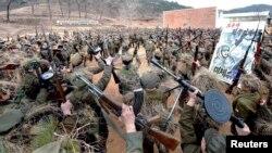 Тренинг на војската на Северна Кореја