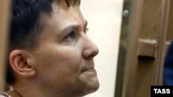 Надежда Савченко в зале суда. 3 марта 2016 года
