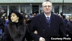 Jadranka i Vojislav Šešelj, FOTO: novosti.rs