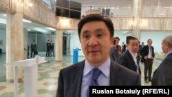 Ерлан Кожагапанов, президент Федерации футбола Казахстана. Астана, 21 ноября 2015 года.