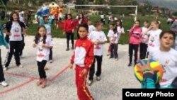 Macedonia - Project Sport etiquette in Mavrovo - 2014