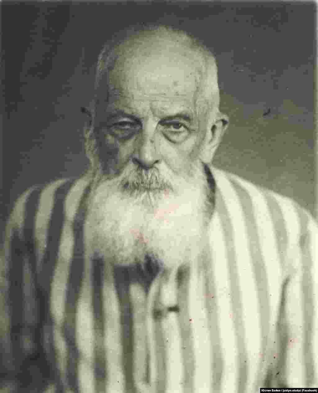 Фотографія архимандрита УГКЦ Климентія Шептицького з його досудової справи. Був заарештований НКВС у 1947 році. Фото з фейсбуку Юстина Бойка