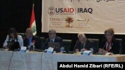 جانب من المؤتمر الثاني لوزارة التخطيط العراقية لمناقشة خطة التنمية الخمسية