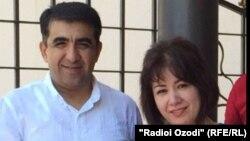 Абдумалик Саломов с супругой