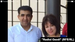 Кардиохирург из Таджикистана Абдумалик Саломов со своей женой Зарринахон Саломовой.