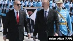 R.T.Ərdoğan və İ.Əliyev