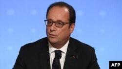 Францускиот претседател Франсоа Оланд