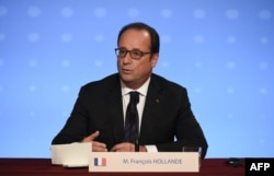 Президент Франції Франсуа Олланд. Париж, 2 жовтня 2015 року