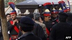 Похороны Салмана Тасира